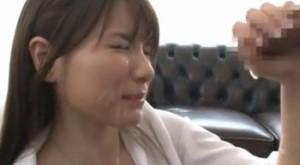 早乙女ルイ 早漏強化合宿で美女にオナホしごきされ暴発連続射精で精子だだ漏れ!