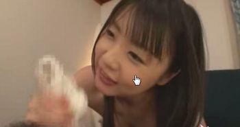 ロリAV女優つぼみちゃんの悪戯フェラチオに耐えられず暴発しちゃう!
