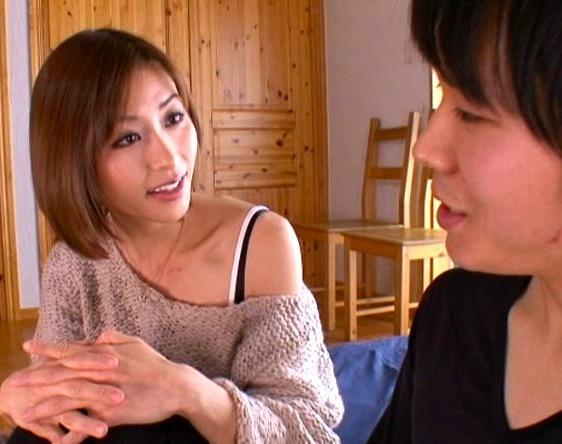 朝日奈あかり 綺麗なお姉さんの早漏改善トレーニングに我慢できず、ぶっとび射精する敏感素人くん