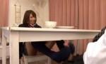 夏目優希 嫁の妹のギャルJKにこっそり足コキされ、テーブルまで届く大量暴発射精する旦那