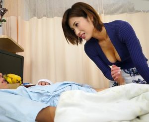 君島みお オナニーができない入院患者を洗体パイズリ狭射で抜いてくれる美巨乳姉ちゃん