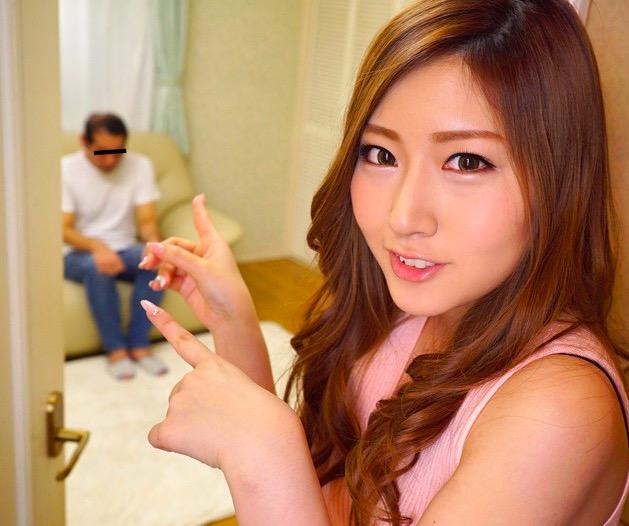 舞島あかり 溜まった童貞チンポを手コキフェラで大量射精させて喜ぶ巨乳美女